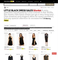 That Little Black Dress #sexy #classic #coolonsale.com