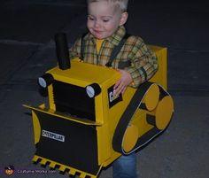 Little Bulldozer Costume - Halloween Costume Contest via @costumeworks