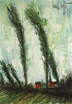 Environs de Matignon Bretagne By Bernard Buffet