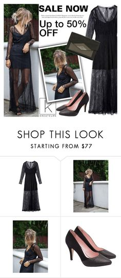 """""""SALE NOW: Up to 50% OFF"""" by kreateurs ❤ liked on Polyvore featuring Deby Debo, sales and kreateurs"""