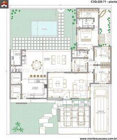 Casa 2 Quartos - 220.71m²
