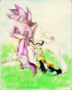 Silver & Blaze :) Awwwww!! ♥