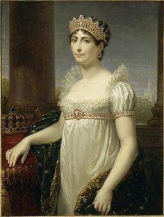 Portrait of Empress Josephine of France, wife of Napoleon Bonaparte.