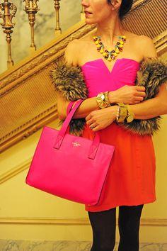 Hot pink! @kate spade new york