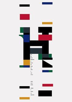 Minoru NiijimaPoster for new typeface, 1997(via AGI)
