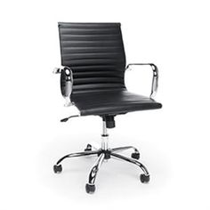 black leather ribbed back boardroom chairs for sale with free shipping shop popular ofm boardroom chairs like the from the essentials office seating - Gray Leather Office Chair