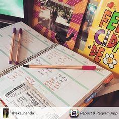 Como você usa seu Daily Planner? Mostre pra gente e use #meudailyplanner
