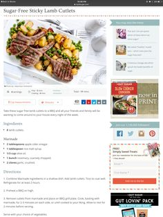 Healthy Bars, Sugar Free, Lamb, Slow Cooker, Cooking, Kitchen, Crock Pot, Brewing, Cuisine