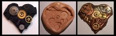 Polymer Clay Mould and Cast by ValerianaSolaris