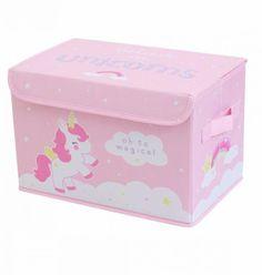 Unicorn Pop-Up Storage Box