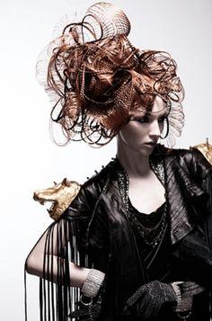 #avant garde #hair