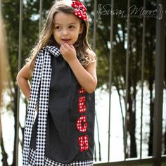 Texas Tech Pillowcase Dresses. $25.00, via Etsy. LOVE!