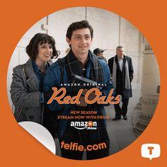#RedOaks: Stream the new season Now with Prime on Amazon Video (3rd Sticker)
