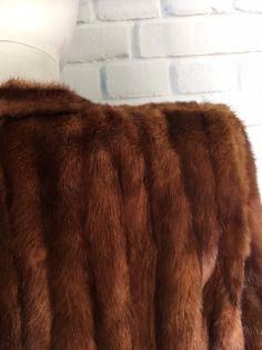 Mink Coats, Fur Coat, 30th Birthday Dresses, Pink Corset, Shoulder Pads, Vintage Black, Amazing, Clothes, Etsy