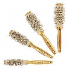 Brosse - Accessoires coiffure - Gouiran Beauté Particulier Pull Through Braid, Techno, Bobby Pins, Hair Accessories, Beauty, Unique, Curtain Bangs, Hair Lengths, Bamboo