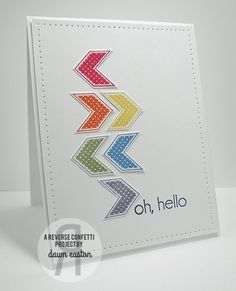 Oh, hello by TreasureOiler - Cards and Paper Crafts at Splitcoaststampers