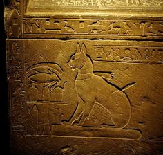 The Egyptian Prince Thutmose had his cat Ta-Miewet buried beside him in her own stone sarcophagus.