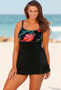 Longitude Thailand Plus Size Lingerie Swimdress