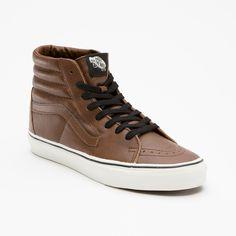Vans Product: Aged Leather Sk8-Hi