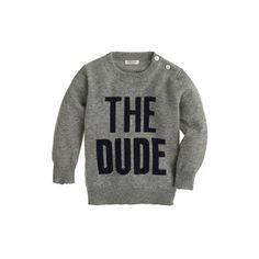Baby cashmere sweater in the dude