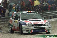 Carlos Sainz - Luis Moya, Toyota Corolla WRC. Rally Montecarlo 1998