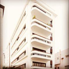 #TelAviv, #Israel   #Bauhaus #Architecture