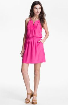 ALICE & TRIXIE 'Erin' T-Back Silk Dress available at Nordstrom