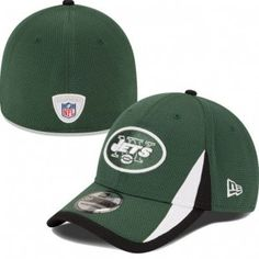 ff809b2a884 New York Jets New Era NFL 2013 Training 39Thirty Flex-Fit Hat (Green)