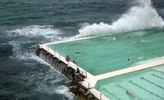 Saltwater Pool - Icebergs Bondi beach