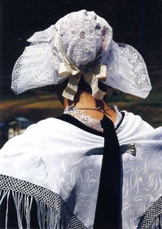 FolkCostume&Embroidery: Costume of the Upper Maurienne, Savoy, France
