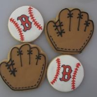 Cute idea for a baseball themed party favor!