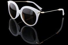 """Women's Round Cateye Retro Sunglasses """"Mirage"""""""