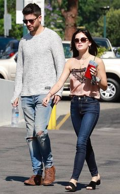 Lucy Hale Sparks Romance Rumors With Ryan Rottman E! News - Entertainment Lucy Hale Body, Lucy Hale Style, Cool Outfits, Casual Outfits, Fashion Outfits, Women's Fashion, Lucy Hale Outfits, Pretty Little Liars Aria, Christian Girls