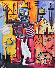 Original Graffiti Painting by Ronald Beets Graffiti Painting, Graffiti Canvas Art, Painting Abstract, Acrylic Paintings, Painting Inspiration, Art Inspo, Jm Basquiat, Basquiat Paintings, Original Art