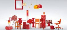 Iconic plastic furniture and interior fittings by Italian company Kartell. Ad from the 2007 campaign. Photo: Fabrizio Bergamo / Kartell (from Kartell: the Culture of Plastics by Elisa Storace and Hans Werner Holzwarth, Taschen, 60s Furniture, Italian Furniture, Furniture Design, Quality Furniture, Luxury Furniture, Tricia Guild, Philippe Starck, Vintage Industrial, Industrial Style