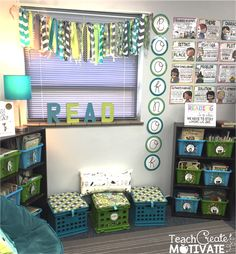 My Classroom Reveal! - Teach Create Motivate