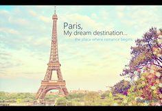 #Paris , mi sueño