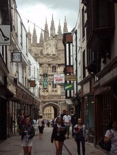 Canterbury, Kent, UK... my favorite place in the entire world..