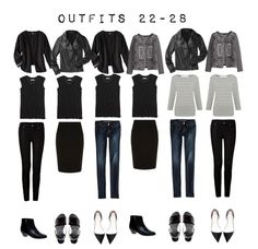 Outfits 22-28