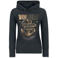 "Felpa donna ""Anchor"" dei #Volbeat."