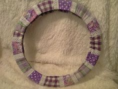 Purple Passion Patchwork and Lace  Steering by SylMarCreations
