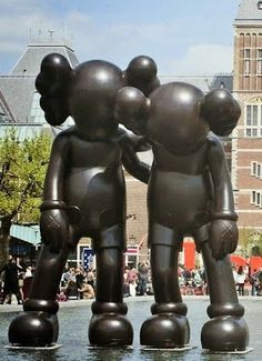 Kaws - Amsterdam' open air sculpture biennial.