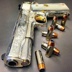 Putting Together a Home Earthquake Kit – Bulletproof Survival Weapons Guns, Guns And Ammo, Armas Wallpaper, 1911 Pistol, Gun Art, Custom Guns, Custom 1911, Cool Guns, Rifles
