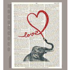 LOVE  Valentines day pop art ORIGINAL ARTWORK  by RococcoCo, $9.95