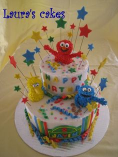 Sesame Street By lpino on CakeCentral.com
