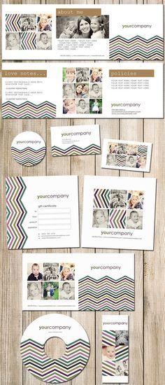 Boutique Marketing Package  Ziggy Photography by KayleeBugDesign, $65.00