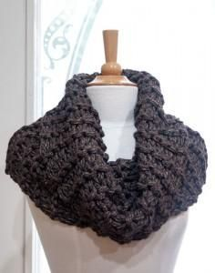 Even if you haven't been watching Starz new series Outlander, you may still have caught sight of some of these chunky cowls making the rounds in the knitting co