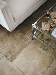 Crossville Porcelain Tile - Reclamation Whiskey Etching
