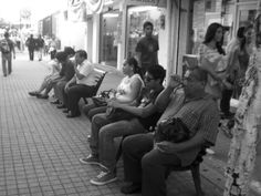 Plano general. Calle Juárez