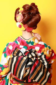 aile Total Beauty Salon 生駒のヘアスタイル画像(3) 成人式style60'sレトロモダンスタイル|aile Total Beauty Salon 生駒のヘアスタイル情報なら、美容室&ヘアスタイル情報サイト Rasysa(らしさ)